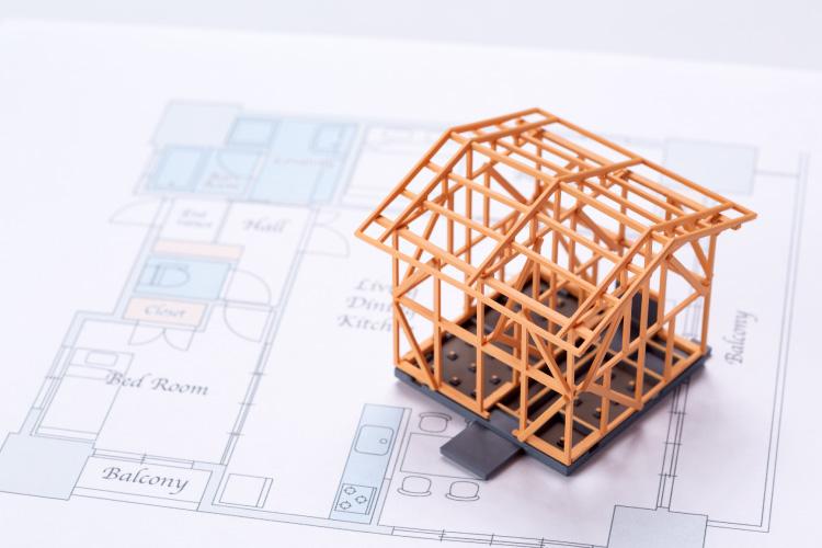 建てられる家の面積は?